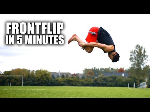 Learn How to Front Flip | In Only 5 Minutes II